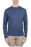 SBU 01196 Crew neck raw cut sweater 01