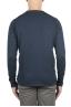 SBU 01199 クルーネック生のカットセーター 04