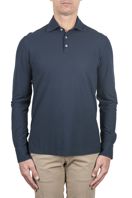 SBU 01206 長袖ポロシャツ 01