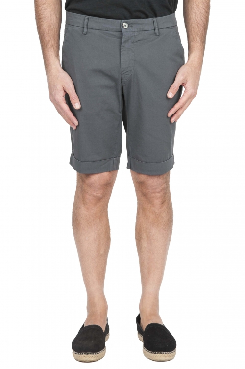 SBU 01219 Short en coton extensible 01