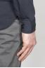 SBU - Strategic Business Unit - Camicia Classica Collo A Punta In Cotone Jersey Nera