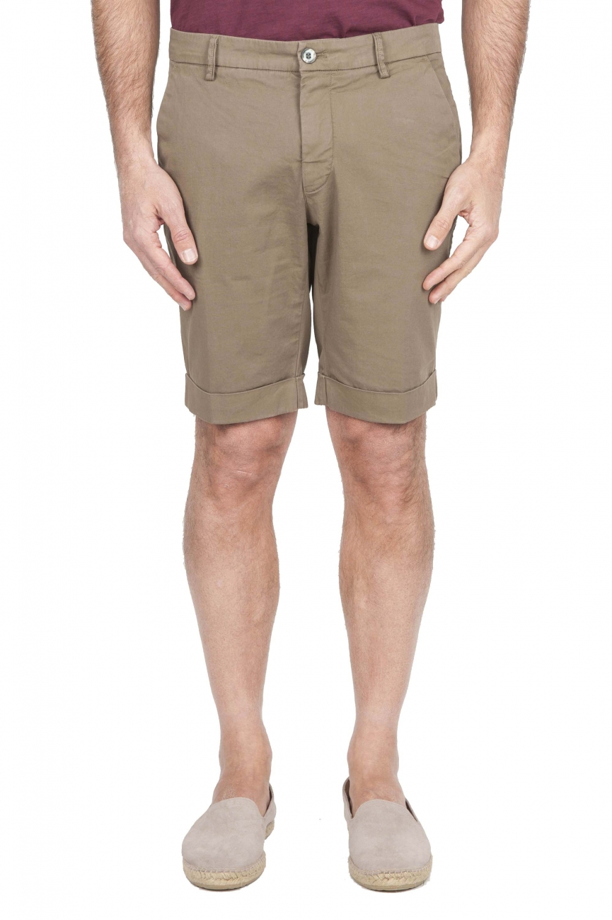 SBU 01223 Stretch cotton short pant 01
