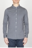 SBU - Strategic Business Unit - Camicia Classica Collo A Punta In Cotone Jersey Grigia