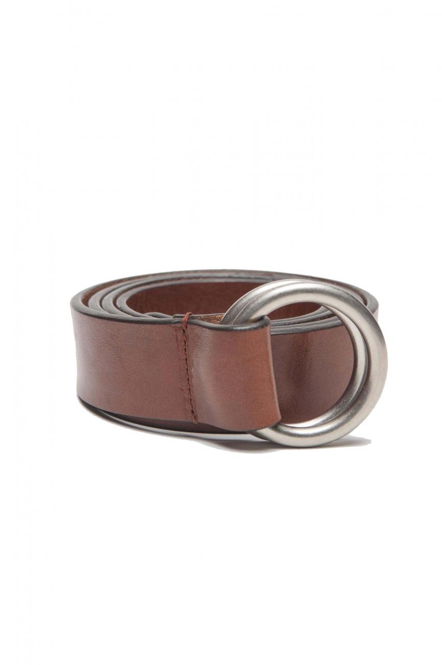SBU 01234 Cintura in pelle iconica 01