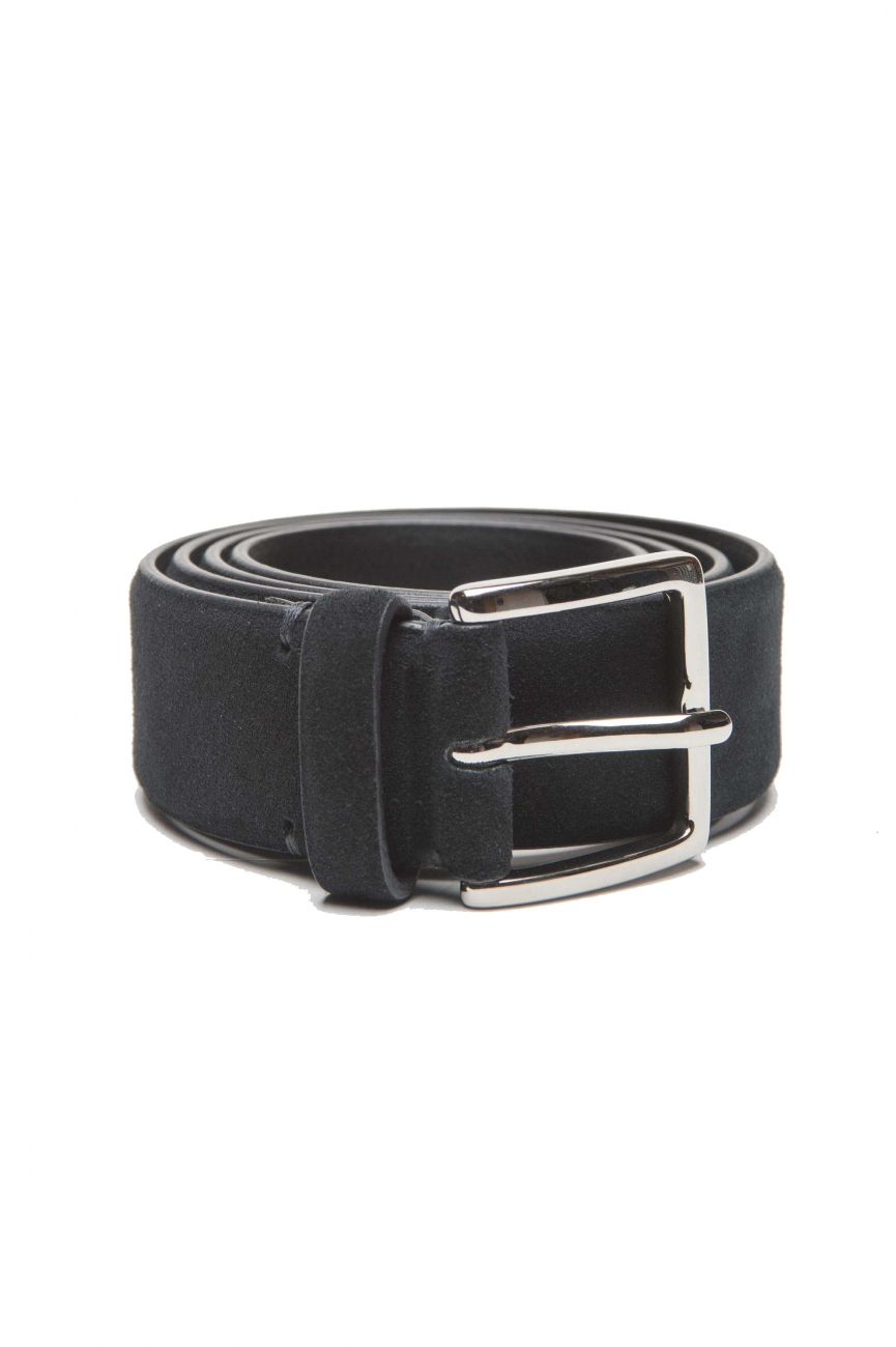 SBU 01243 Suede leather belt 01