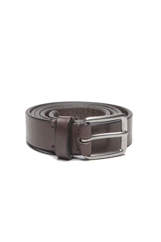 SBU 01251 Cinturón de cuero clásico 01