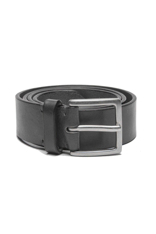 SBU 01253 Cinturón de cuero clásico 01
