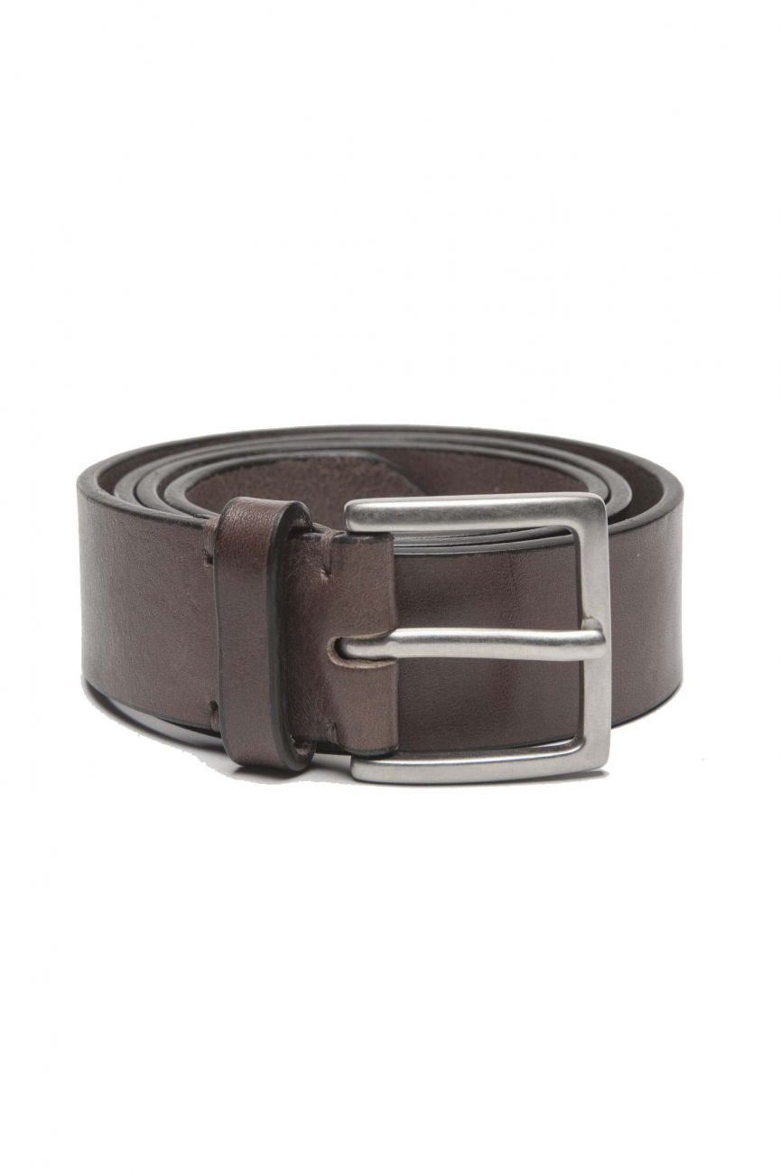SBU 01254 Cinturón de cuero clásico 01