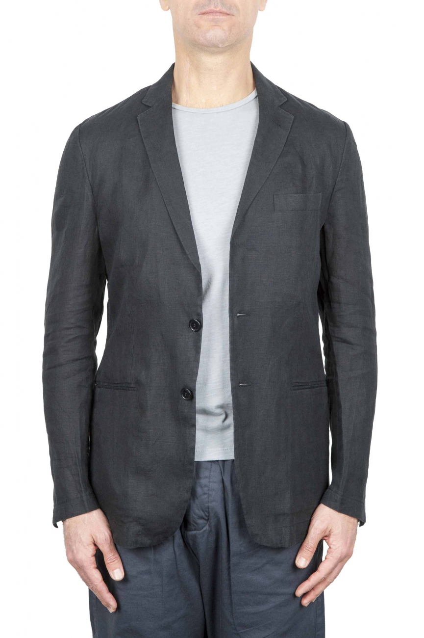 SBU 01258 Single breasted unstructured blazer 01