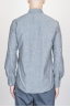 SBU - Strategic Business Unit - Camicia Texana Western In Cotone Chambray Grigia