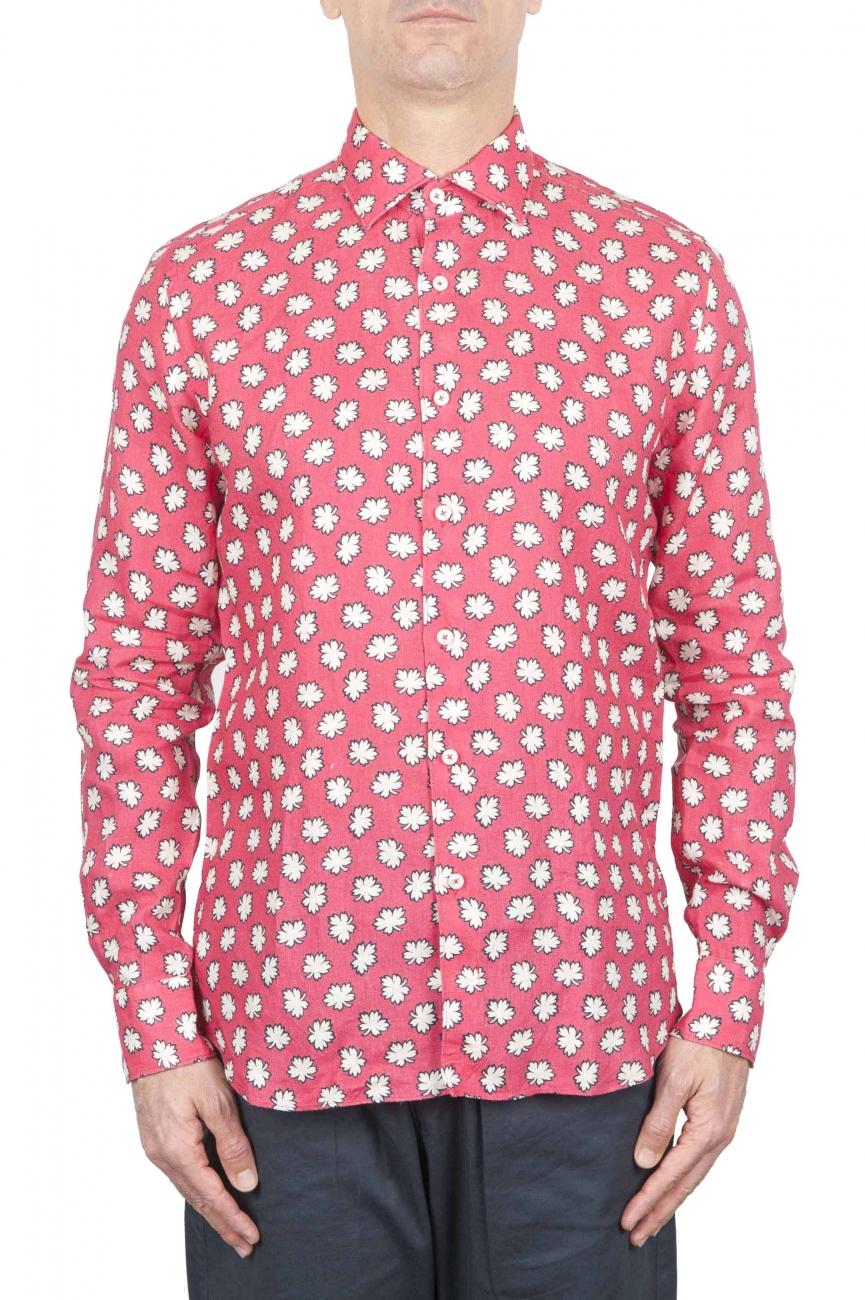 SBU 01271 花のクラシックなシャツ 01