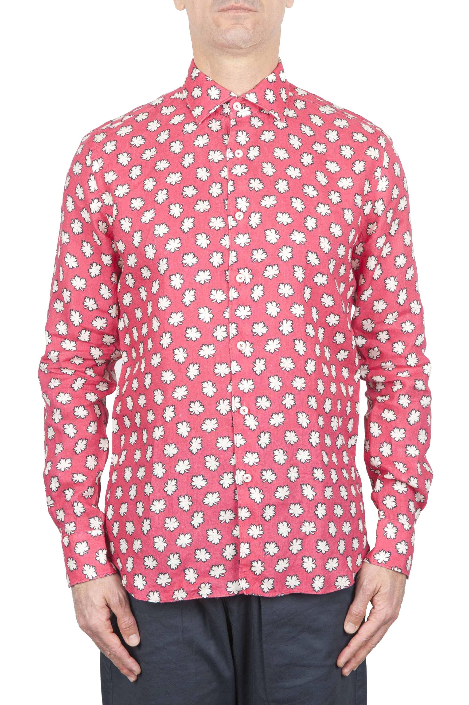 SBU 01271 Floral classic shirt 01