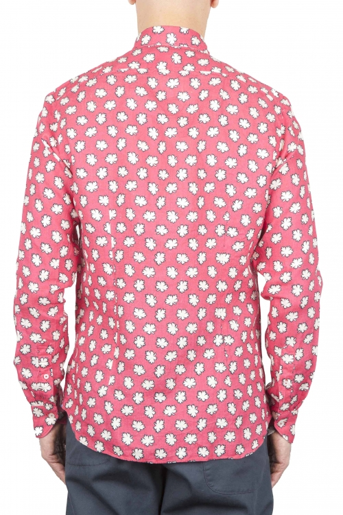 SBU 01271 Camicia classica fiorata 01