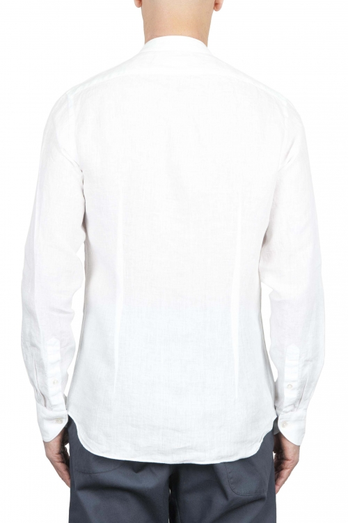 SBU 01273 Camisa de algodón de collar mandarín 01