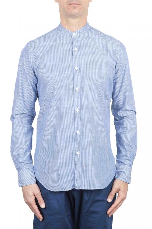 SBU 01274 Camisa de algodón de collar mandarín 01