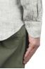 SBU 01275 マンダリンの襟のリネンシャツ 06