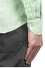 SBU 01276 マンダリンの襟のリネンシャツ 06