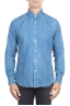 SBU 01300 Camicia in denim tinto indaco stone washed 01