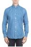 SBU 01300 Stone washed indigo dyed denim shirt 01