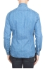 SBU 01300 Stone washed indigo dyed denim shirt 04