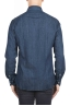SBU 01301 Camisa denim teñida en azul índigo natural puro 04