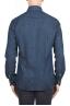 SBU 01301 Pure natural indigo dyed blue denim shirt 04