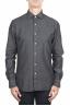 SBU 01302 Camicia in cotone denim tinta china 01