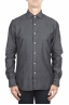 SBU 01302 Ink dyed cotton denim shirt 01