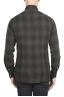 SBU 01306 ウェールズ公の市松模様の緑の綿のシャツ 04
