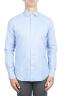 SBU 01307 Camisa de franela azul de algodón suave 01