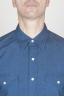 SBU - Strategic Business Unit - Classic Blue Indigo Cotton Chambray Rodeo Shirt