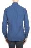 SBU 01308 Camisa de franela índigo de algodón suave 04