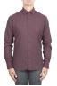 SBU 01310 Camisa de franela Burdeos de algodón suave 01