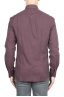 SBU 01310 Camisa de franela Burdeos de algodón suave 04