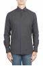 SBU 01311 Camisa de franela gris de algodón suave 01