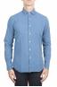 SBU 01312 Natural indigo dyed embossed cotton shirt 01
