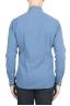 SBU 01312 Camisa de algodón en relieve teñido añil natural 04