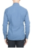 SBU 01312 Natural indigo dyed embossed cotton shirt 04