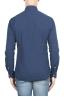 SBU 01313 Camisa de algodón en relieve teñido añil puro 04