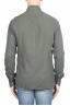 SBU 01319 Green cotton twill shirt 04