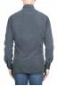 SBU 01320 Grey corduroy cotton shirt 04
