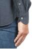 SBU 01320 Camicia in velluto di cotone grigio 06