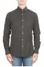 SBU 01321 Camisa de pana de algodón marrón 01