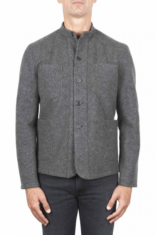 Grey work jacket