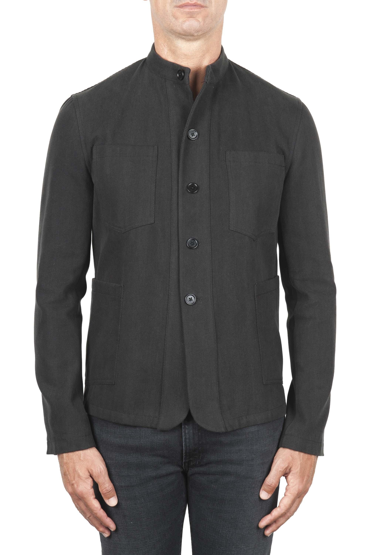 SBU 01328 Mandarin collar sartorial work jacket 01