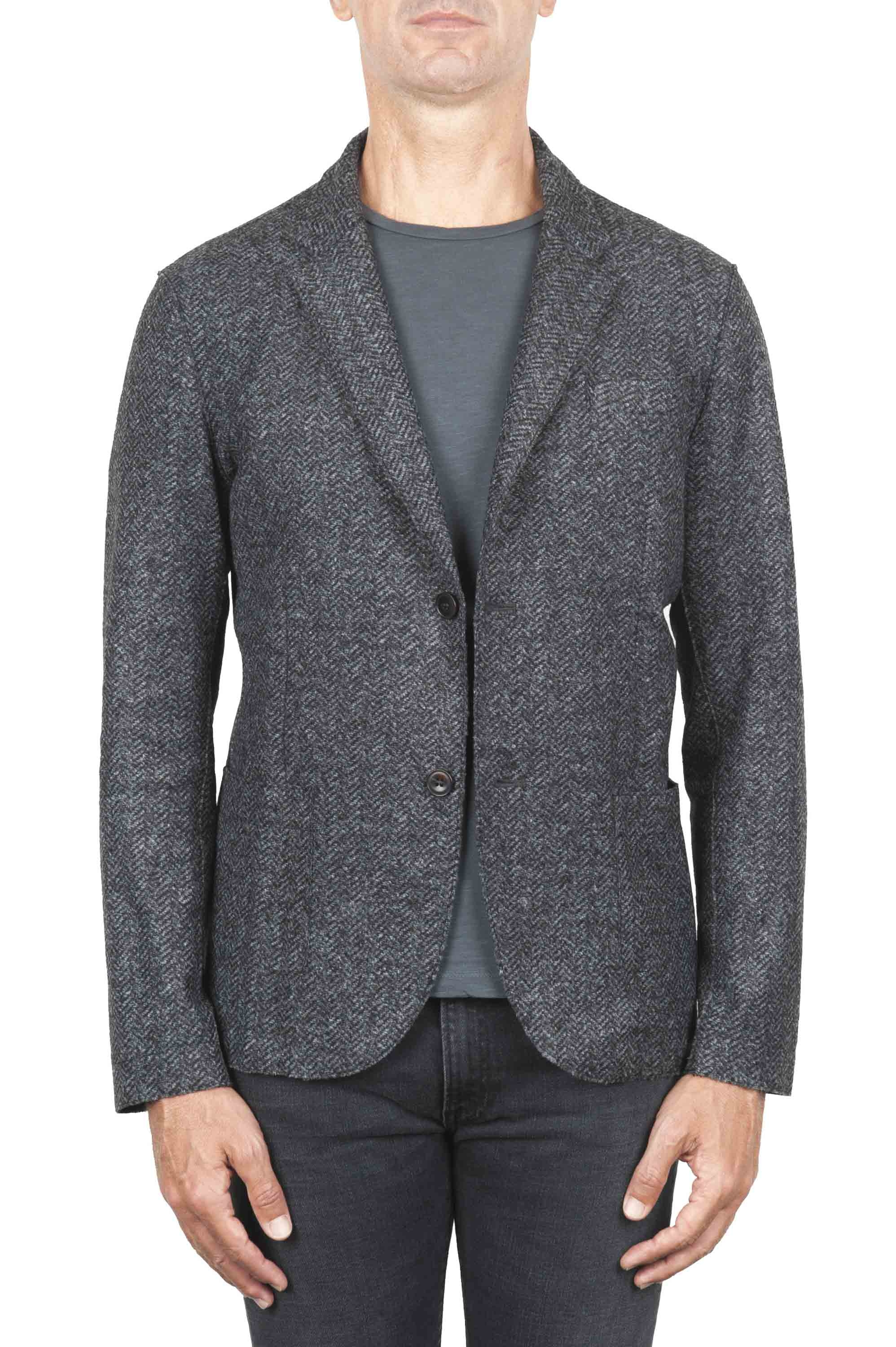 SBU 01339 Wool blend sport jacket unconstructed and unlined 01