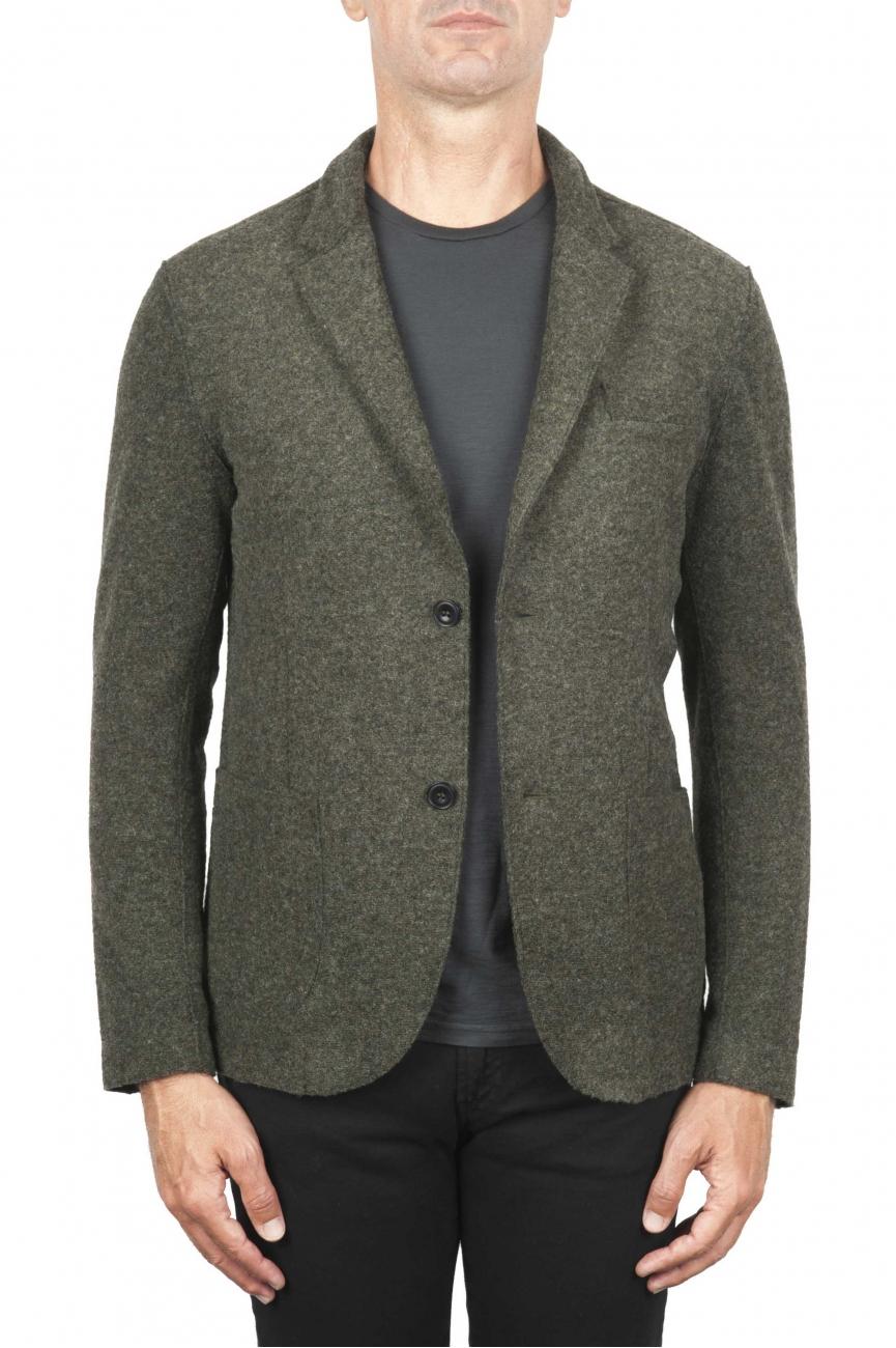 SBU 01443 Chaqueta deportiva en mezcla de lana desestructurada y sin forro 01