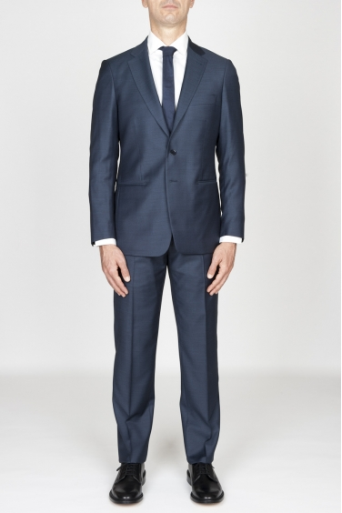 SBU - Strategic Business Unit - Abito Blue In Fresco Lana Completo Giacca E Pantalone