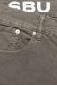 SBU 01460 Jeans elasticizzato in velluto millerighe a coste sovratinto prelavato oliva 06