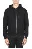 SBU 01465 Sudadera con capucha de jersey de algodón negra 01